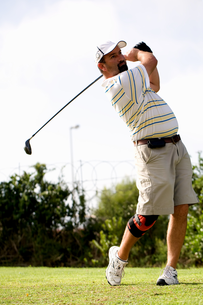 Returning to golf following knee surgery