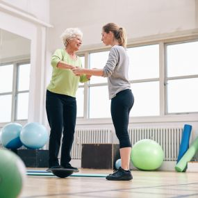 Balance Training and Fall Prevention